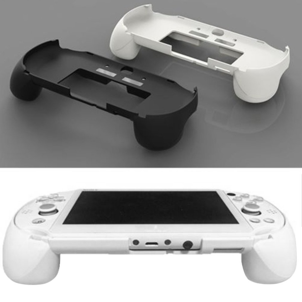 Gamepad Hand Grip Joystick Protective Case Cover Stand Game Controller Handle Holder With L2 R2 Trigger For Sony PS Vita 2000