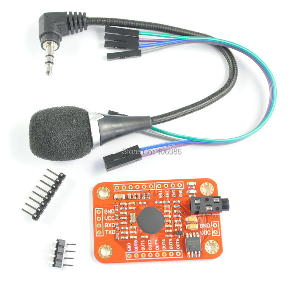 voice recognition - How to program a CAN-BUS arduino