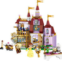 37001 Girl Friends Beauty And The Beast Princess Belle S Enchanted Castle Compatible With Legoed Building