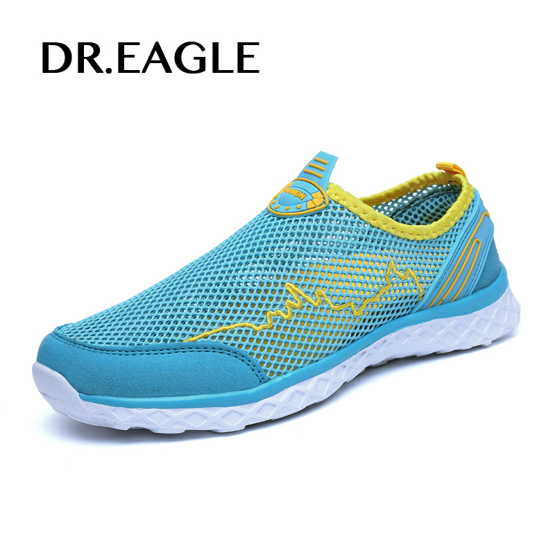 Dr. Орел дышащая Для женщин водонепроницаемая обувь для плавания пляжные спортивные кроссовки быстросохнущие летние кроссовки корзины Homme Б...
