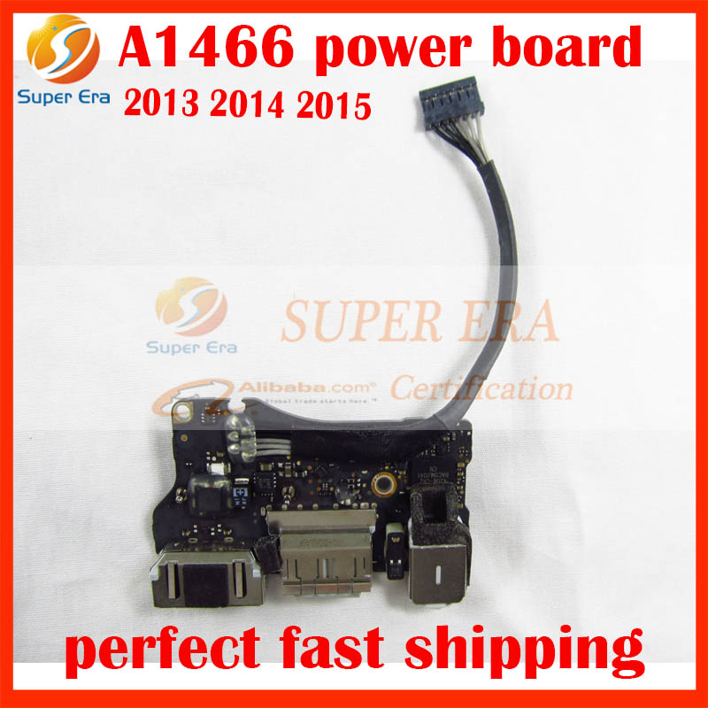 Original For Apple Macbook Air A1466 A1369 I/O DC audio jack Power Board Power Panel Replacement 2013 2014 2015Year for macbook air usb i o audio board 820 3213 a 11 laptop a1465 power dc jack md223 md224 2012