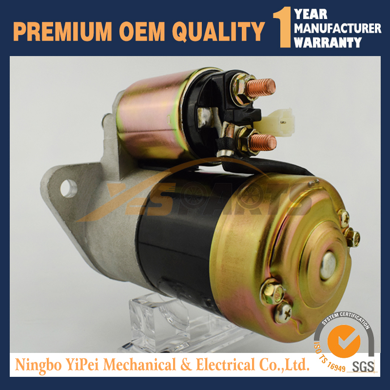 STARTER YANMAR INDUSTRIAL ENGINE 1GM 2GM 3GM