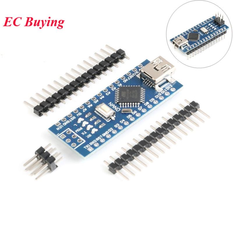 Nano Mini USB Development Board Nano V3.0 Controller Board ATmega328P CH340G USB to TTL NANO 3.0 for Arduino with USB Cable