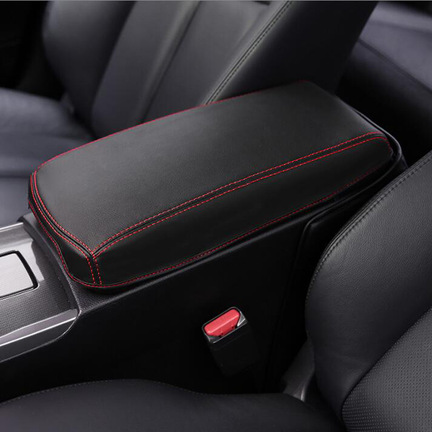 2018 Nissan Altima Interior: Car Central Console Armrest Storage Box Protection Leather