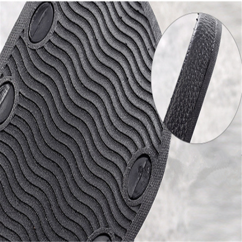Teen Boys Girls Sandals Shoes Teenage Kids Summer Slippers Man Woman Beach Bath Shoes Home Slippers Casual Stripped PVC Shoes 12