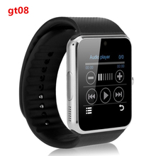 2016 heißer smart watch gt08 uhr sync notifier bluetooth smartwatch unterstützung apple ios und android telefon pk dz09 gv18 gv09