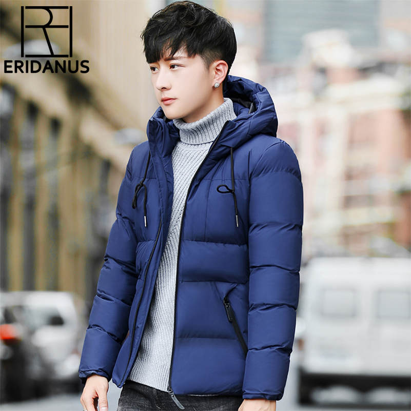 2017 New Brand Winter Jacket for Men Hooded Coats Casual Warm Male Hoodies Fashion Thick Thermal Coats Brand Clothing M624