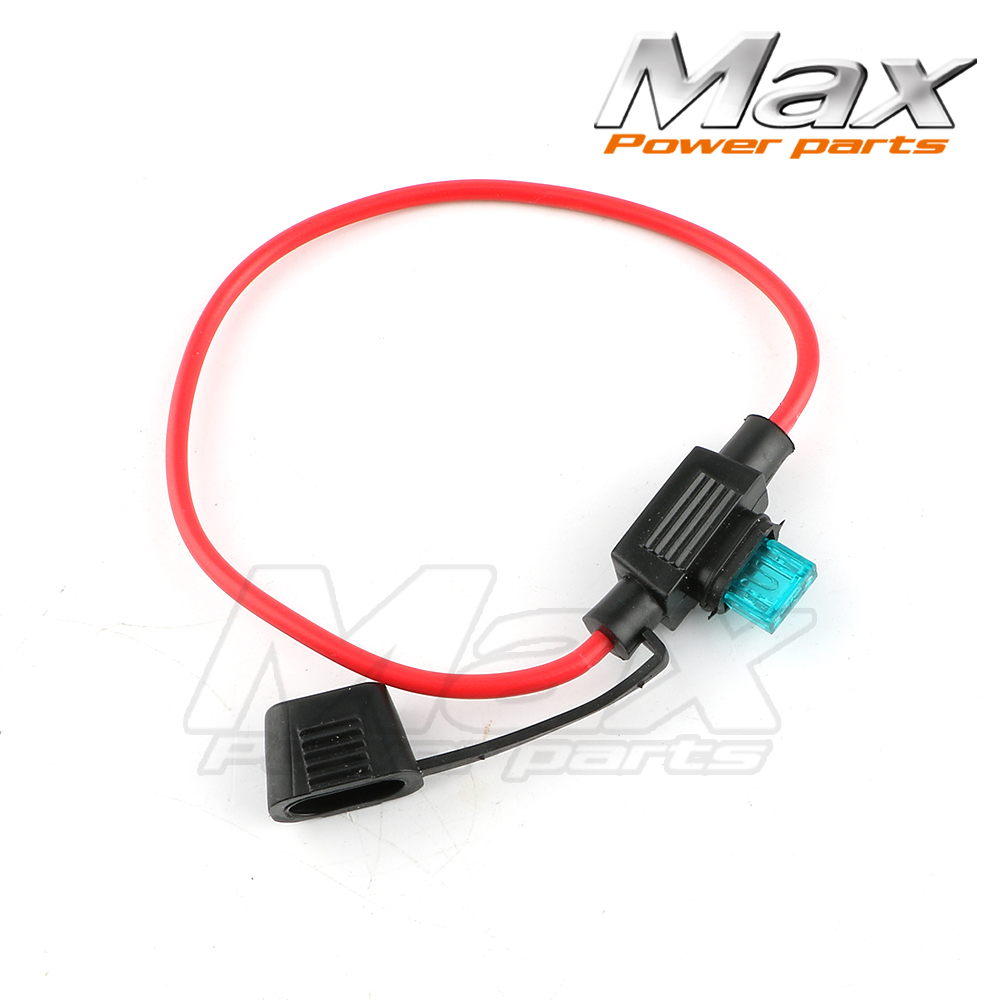 ats splash proof power socket mini blade with fuse for electric cars