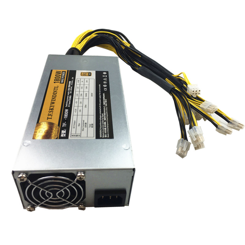 Bitmain Antminer APW7 PSU 1800W Power Supply for Bitcoin Miner S9 V9 T9 S7 L3 D3