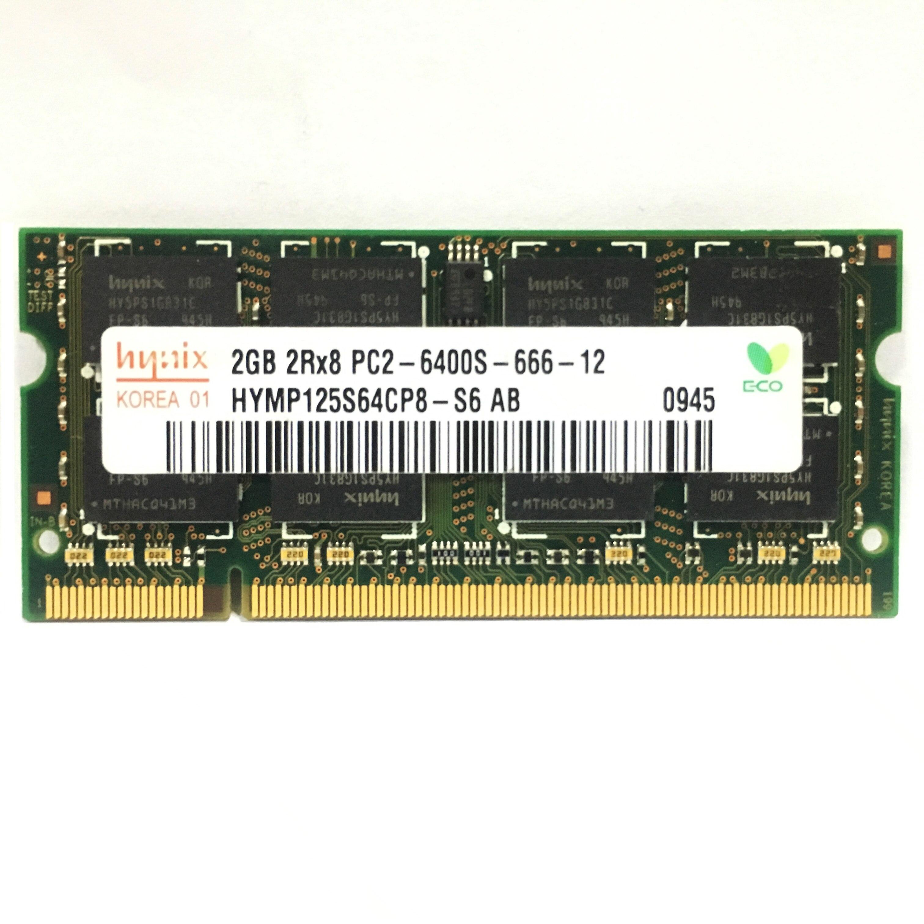 1G 1G  2G 4GB 2GB PC2 6400 5300  DDR2 667MHz 800MHz Laptop RAM notebook  memory RAM Use original /hynix chipset 2