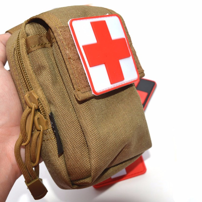 Fashion Style Wholesale 3d Pvc Rubber Red Cross Patch Medic Paramedic Tactical Army Morale Badge Entertainment Memorabilia