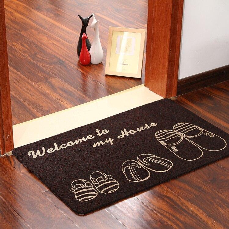 € 9.16 20% de réduction|2017 paillasson tapis tapis pas cher décoratif  paillasson tapis de cuisine paillasson antidérapant tapis de sol Mini tapis  ...