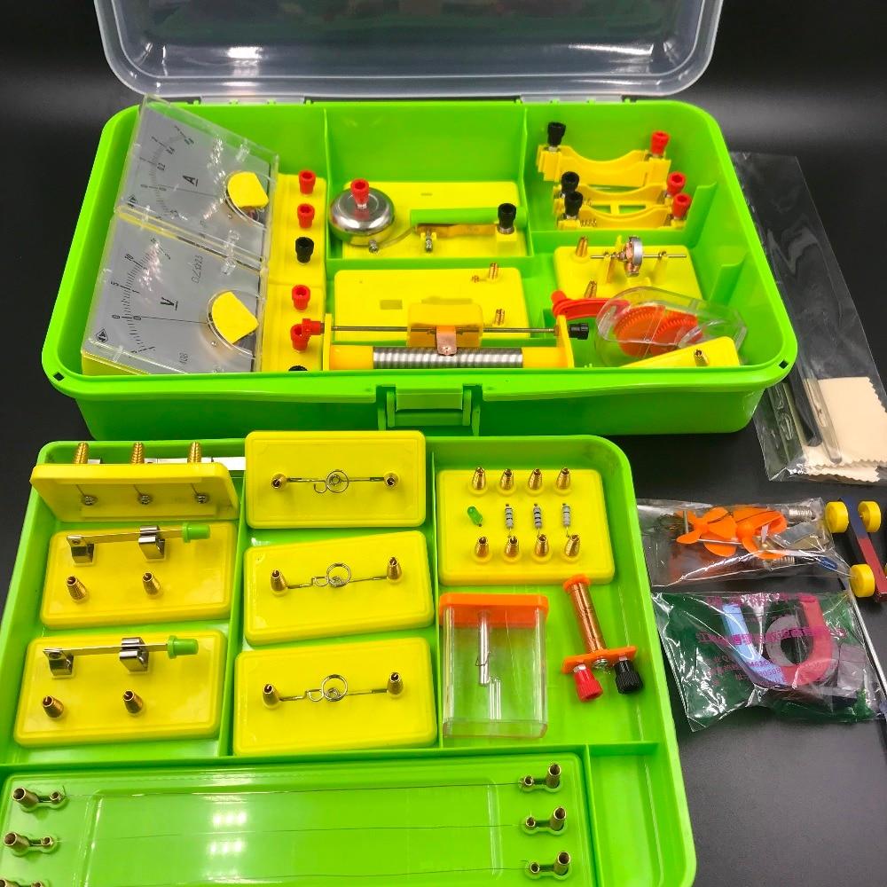 Instrument d'enseignement Circuit physique et électrique équipement expérimental ensemble de physique outil d'apprentissage de l'ampoule du conducteur