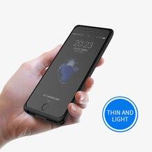 Батарея Дело 2500 mah/5000 mah Перезаряжаемые Внешняя батарея, крышка случае Мощность банка для iphone 6/6S/7/8 Батарея Зарядное устройство Чехол