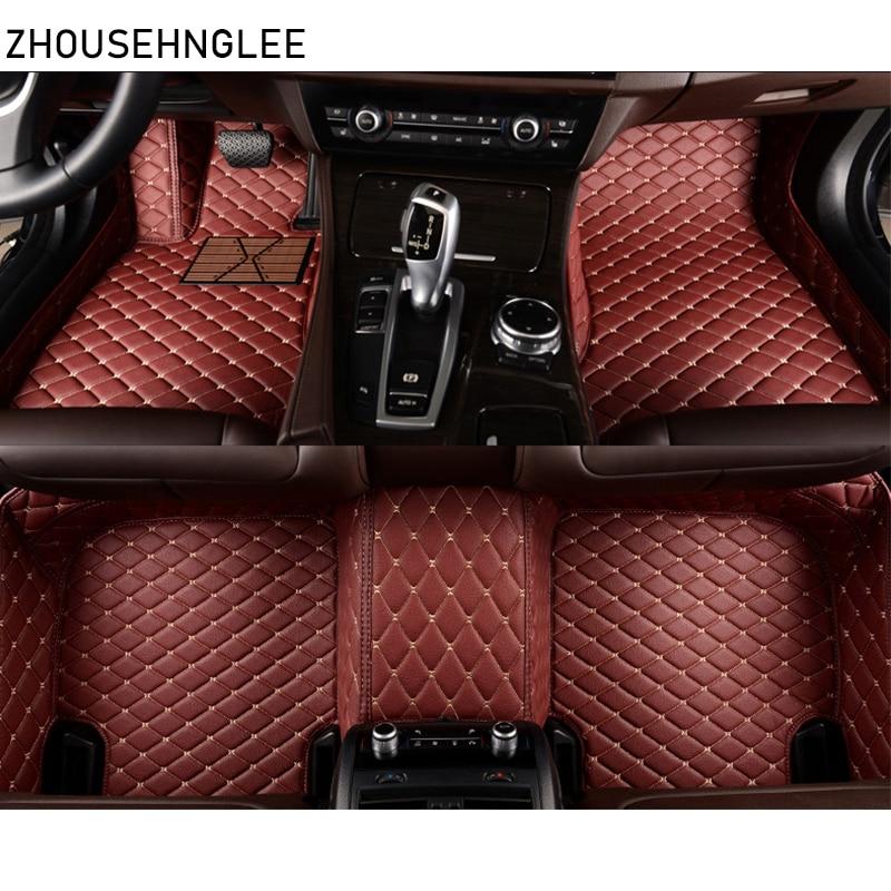 zhoushenglee Custom car floor mats for BMW all model 535 530 X3 X1 X4 X5 X6