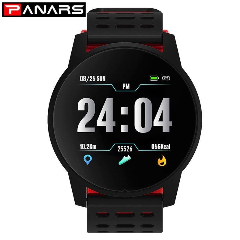 Nouveau 2019 montre intelligente hommes femmes Bluetooth Sport montres numériques Bracelet de Fitness Intelligent moniteur de fréquence cardiaque