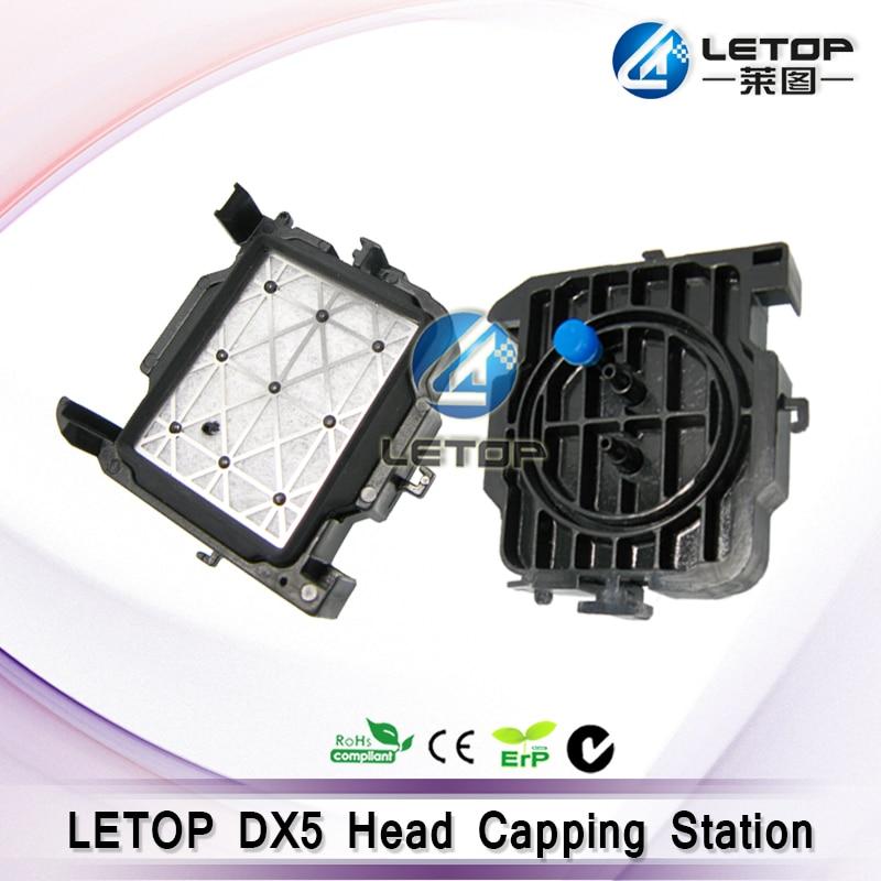 4 teile/los freies verschiffen eco-solvent inkjet drucker mimaki jv5 mimaki jv33 kappe station für dx5 dx7 druckkopf