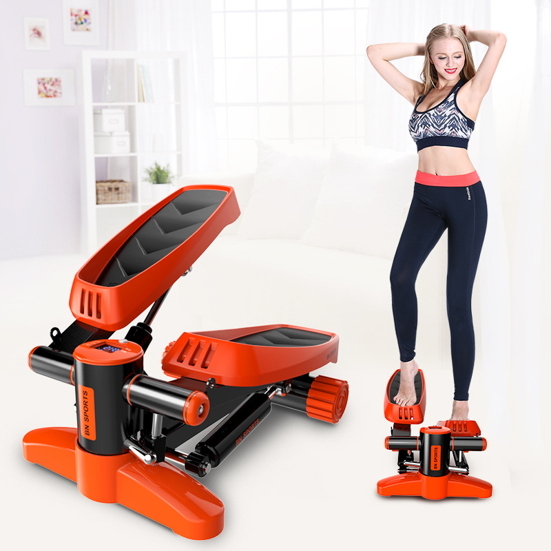 Mini tapis roulant Steppers pédale ménage silencieux hydraulique escaliers grimpeurs équipement de Fitness à domicile pour perdre du poids jambe minceur - 2