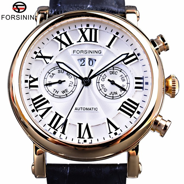 roman dials s date quartz sub chronograph display numerals men watches watch itm