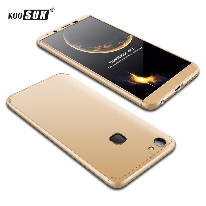Vivo v7 Plus Y79 Case Back Cover For Vivo v7plus Phone Case Luxury Matte Full Protect Bag VIVO v7 + Case Capa Slim PC hard Shell