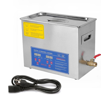 VEVOR Factory Stainless 6L Industry Heater Ultrasonic Cleaners For Jewelry Cleaning