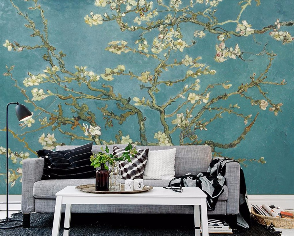 Custom Wall Papers Home Decor Tree 3d Stereoscopic