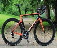 Mit 5800 Groupset NK1K voll Fahrrad Cipollini Komplette carbon rennrad mit NK1K carbon rahmen  50mm carbon räder 11 teile