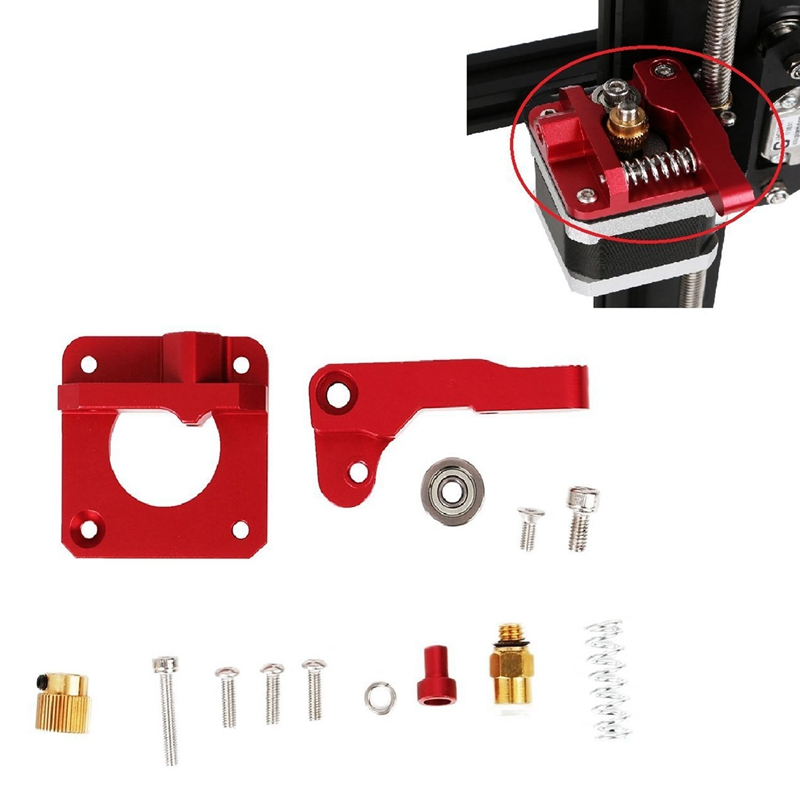 CR 10 Extruder Upgraded Replacement Aluminum MK8 Drive Feed 3D Printer Extruders for Creality CR 10 CR 10S CR 10 S4 CR 10 in 3D Printer Parts Accessories from Computer Office