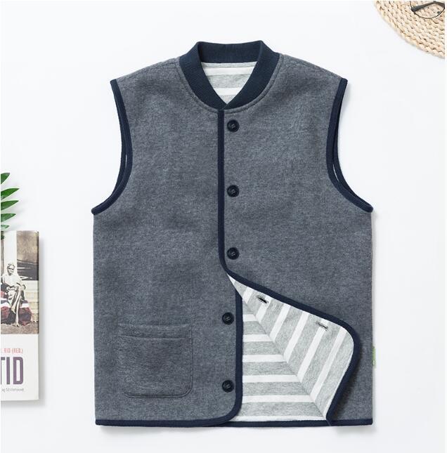 2018 Children Vest Clothing Outwear Down Vest High Qualitycotton vest 50575 Free Shipping nb down vest