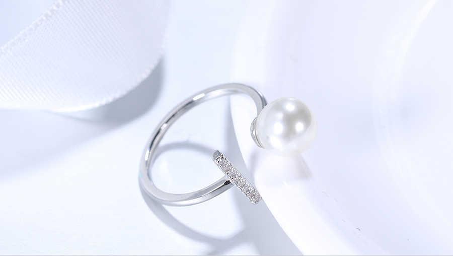 Có thể điều chỉnh Trang Sức Nhẫn Nữ Giả Ngọc Trai Thời Trang Vòng Nữ DỰ TIỆC CƯỚI Nhẫn Hoa Hồng Vàng Tình Bạn Lễ Tình Nhân Tặng