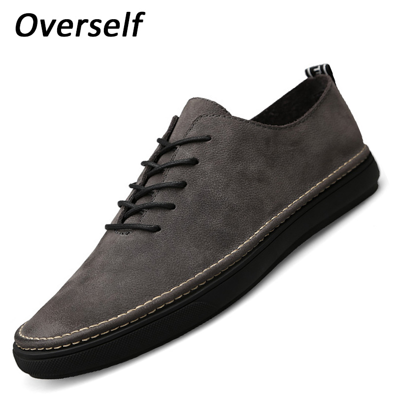 High Quality Genuine Leather Men Casual Shoes Comfy Moccasins Loafers Men's Shoes 36 to 45 Big Plus Size Sping Summer Breathable zenvbnv high quality summer cow genuine leather men shoes soft loafers fashion brand men moccasins flats comfy driving shoes
