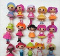 2014 New button eyes mini Lalaloopsy dolls, kid child birthday gift, play house toys, action collection figure girls brinquedos