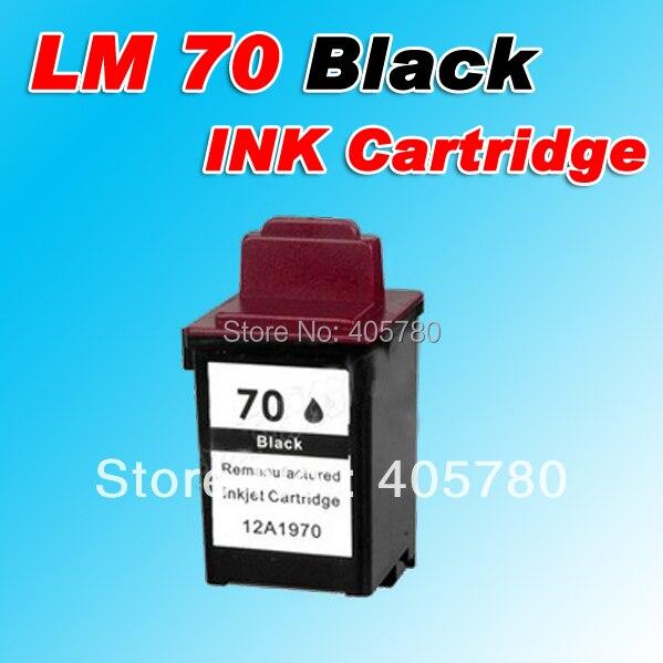 Картридж с черными чернилами LM 70 (12A1970), совместимый с Lexmark 70 LM 70 3200/5000/5700/5770/7000/7200V Z11/Z31 +