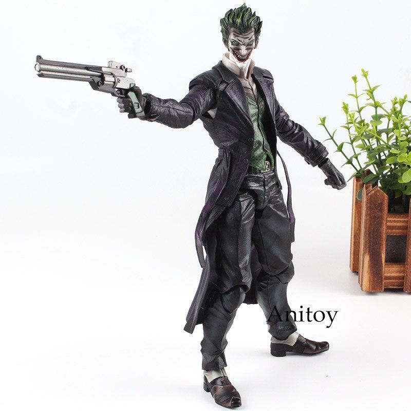 Batman Joker Figura Gioca Arts KAI Action Figure Arkham Origini NO. 4 il Joker Giocattolo Figura Bambola 27 cmBatman Joker Figura Gioca Arts KAI Action Figure Arkham Origini NO. 4 il Joker Giocattolo Figura Bambola 27 cm