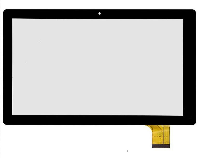 Black New Capacitive touch screen panel Digitizer Glass Sensor replacement For XC-PG1010-031-A0 FPC Tablet FreeShipping new capacitive touch screen yj312fpc v0 touch panel digitizer glass sensor for yj312fpc v0 mid touch screen glass