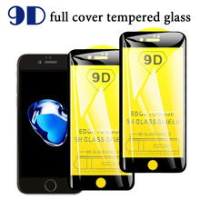 9H Tempered Glass For iPhone 6 6s Plus Screen Protective 9D Full Cover plus glass film
