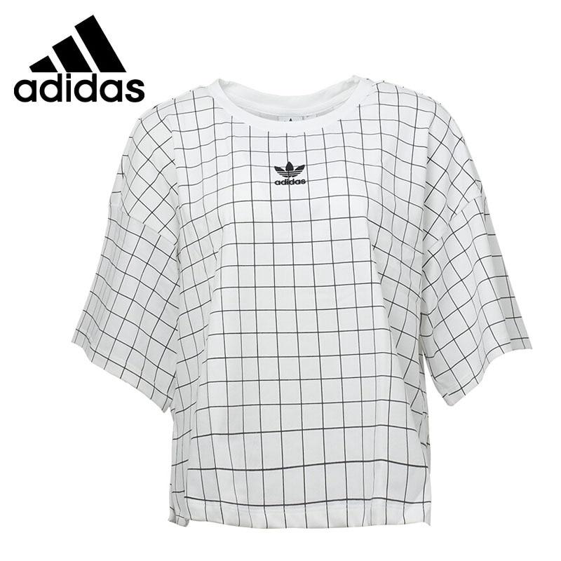 Original New Arrival 2018 Adidas Originals CLRDO T-SHIRT Women's T-shirts short sleeve Sportswear original new arrival 2017 adidas originals s s camo color men s t shirts short sleeve sportswear