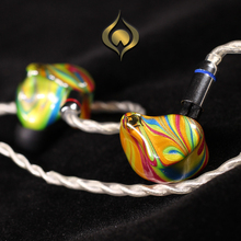 Peacock Audio P1 Dynamic In-ear HIFI Music Monitor DJ Studio Custom Hand Made Colorful Earphones Earbuds w/ MMCX Bluetooth Cable 2018 tfz tequila 1 hifi audiophile 2 pin 0 78mm hifi music monitor studio detachable in ear earphone iems dynamic mmcx earbuds