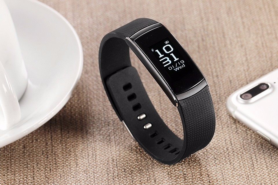 Original iWown i6Pro Smart Band PMOLED Display Heart Rate Monitor Smart WristBand Bracelet Waterproof Android Fitness Tracker 25