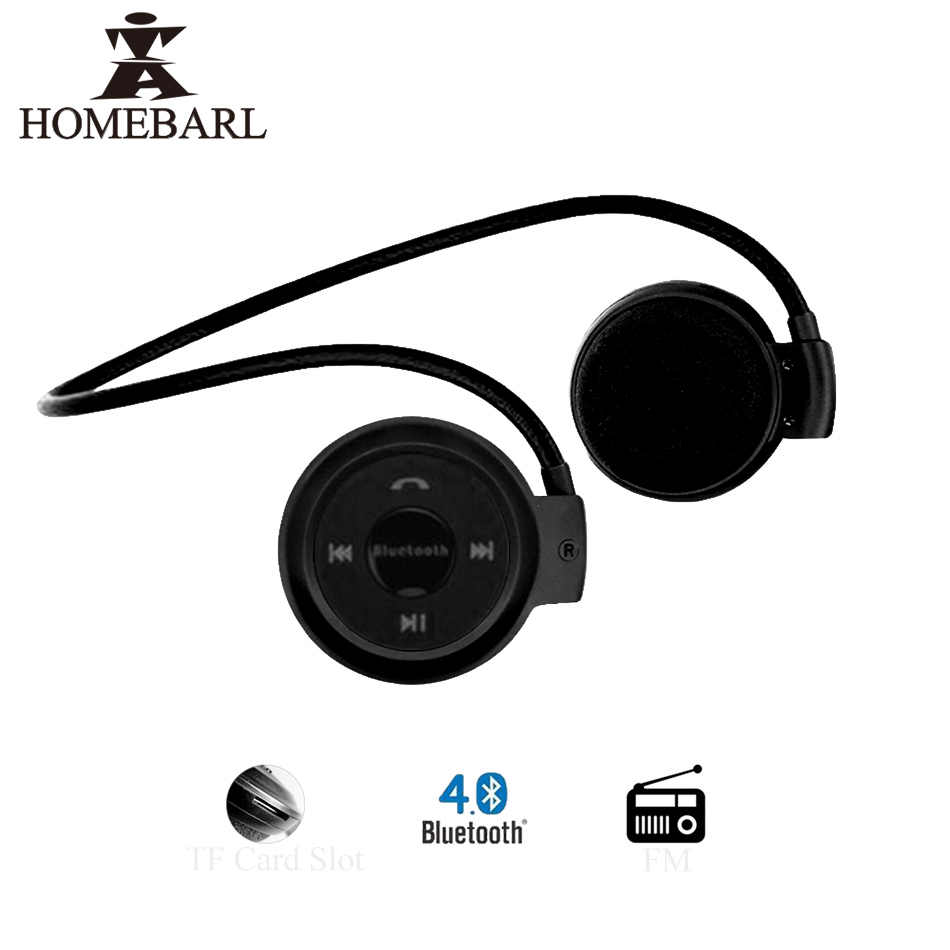 d477bd33d07 HOMEBARL 3D Mini 503 Mini503 Bluetooth 4.2 FM Headset Sport Wireless  Headphones Music Stereo Earphones +