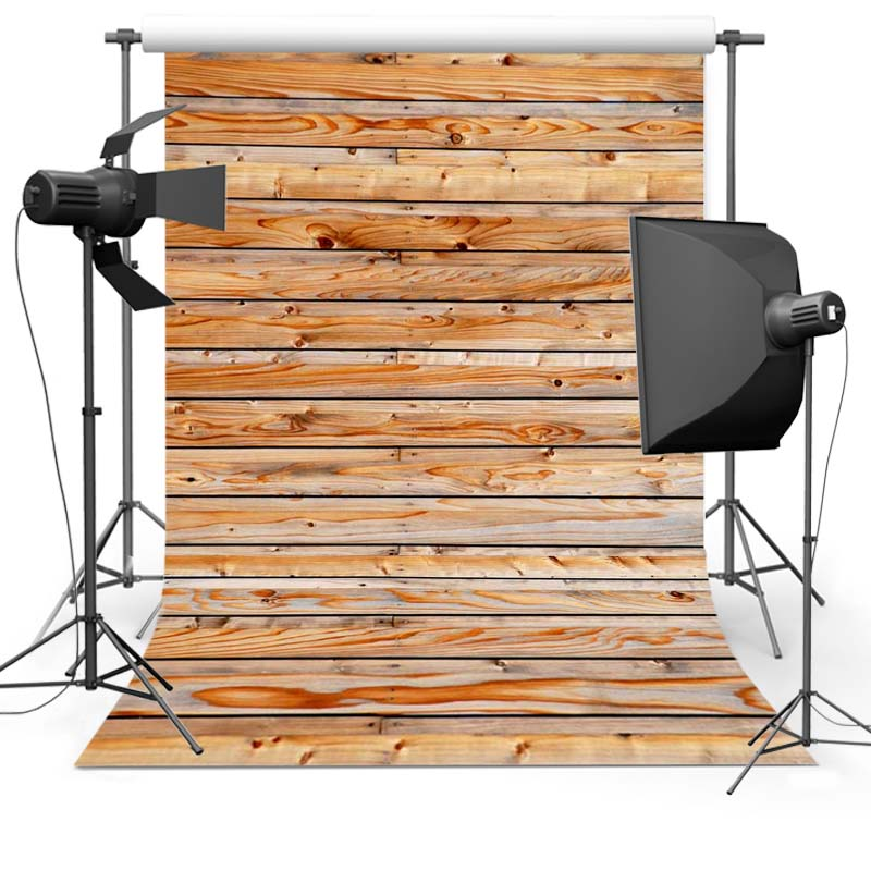 5X7ft  Thin vinyl fabric computer Printed photography background wood floor photo backdrops for photo Studio  Floor-583