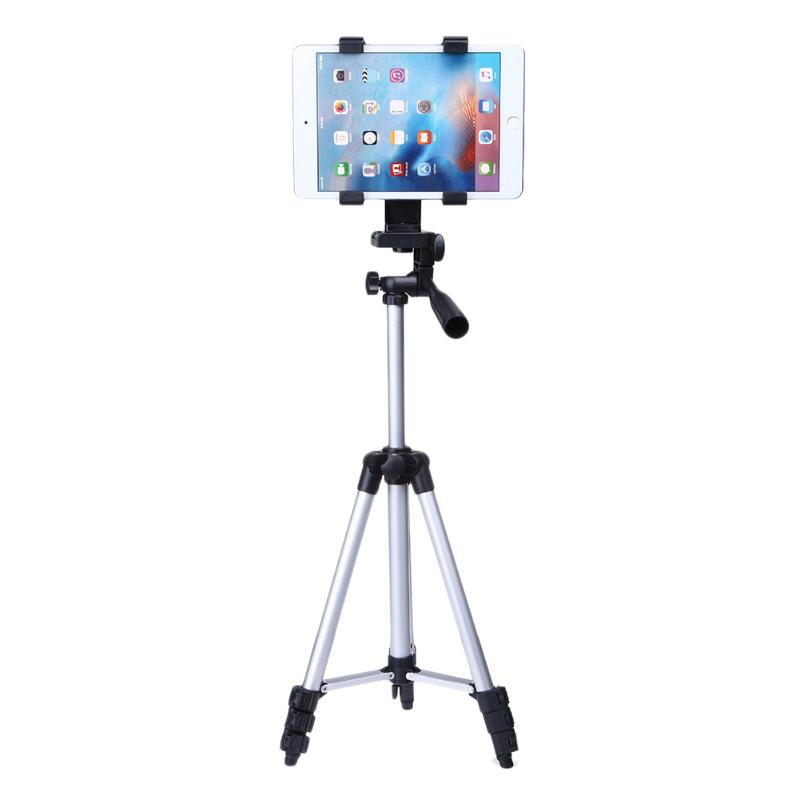 Unfolded 1060mm Portable Professional Camera Tripod Phone Tablet Stand Holder for iPhone iPad Samsung Universal Tripods universal portable stand holder for cell phone deep pink