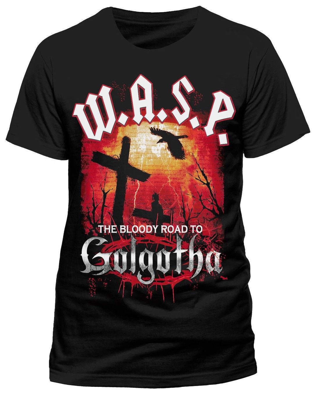W.A.S.P Bloody Road T-Shirt - NEU UND OFFIZIELL