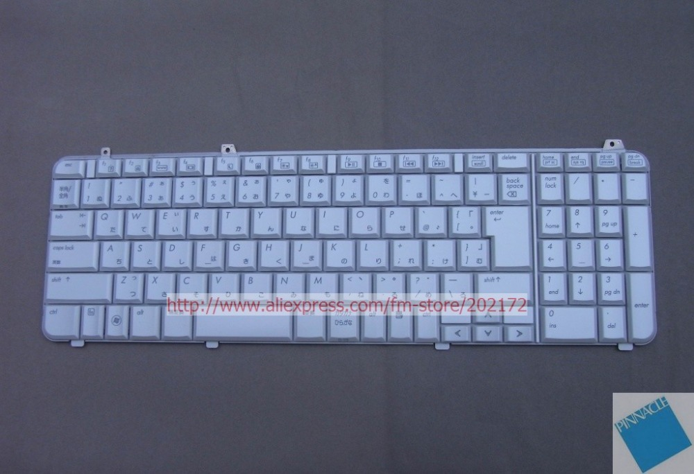 Brand New White  Laptop Keyboard  517863-291 573047-291 For  HP Pavilion DV6 series Japan Layout laptop keyboard for gateway nv47h52c nv47h55c nv47h61c nv47h62c nv47h64c nv47h66c nv47h67c nv47h75c white chinese ch