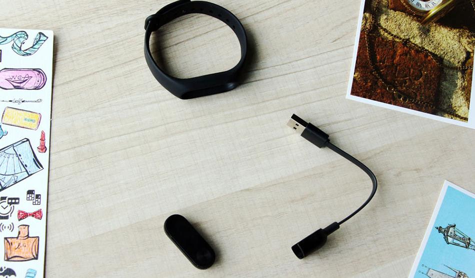 Oryginalny xiaomi mi kompania 2 inteligentnego bransoletki wristband mi kompania 2 fitness tracker bransoletka smartband pulsometr 4