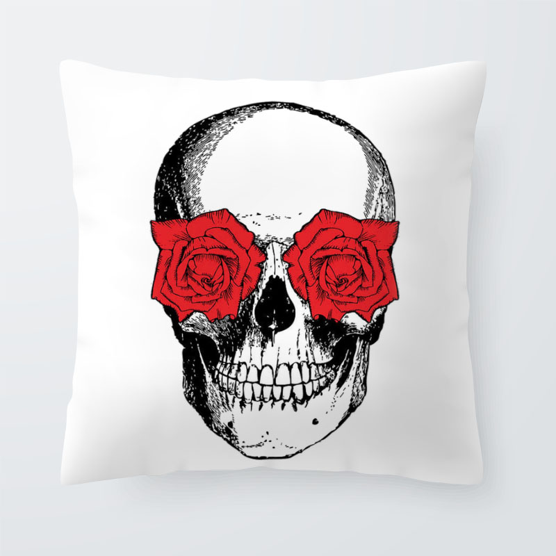 Skull Cushions 1