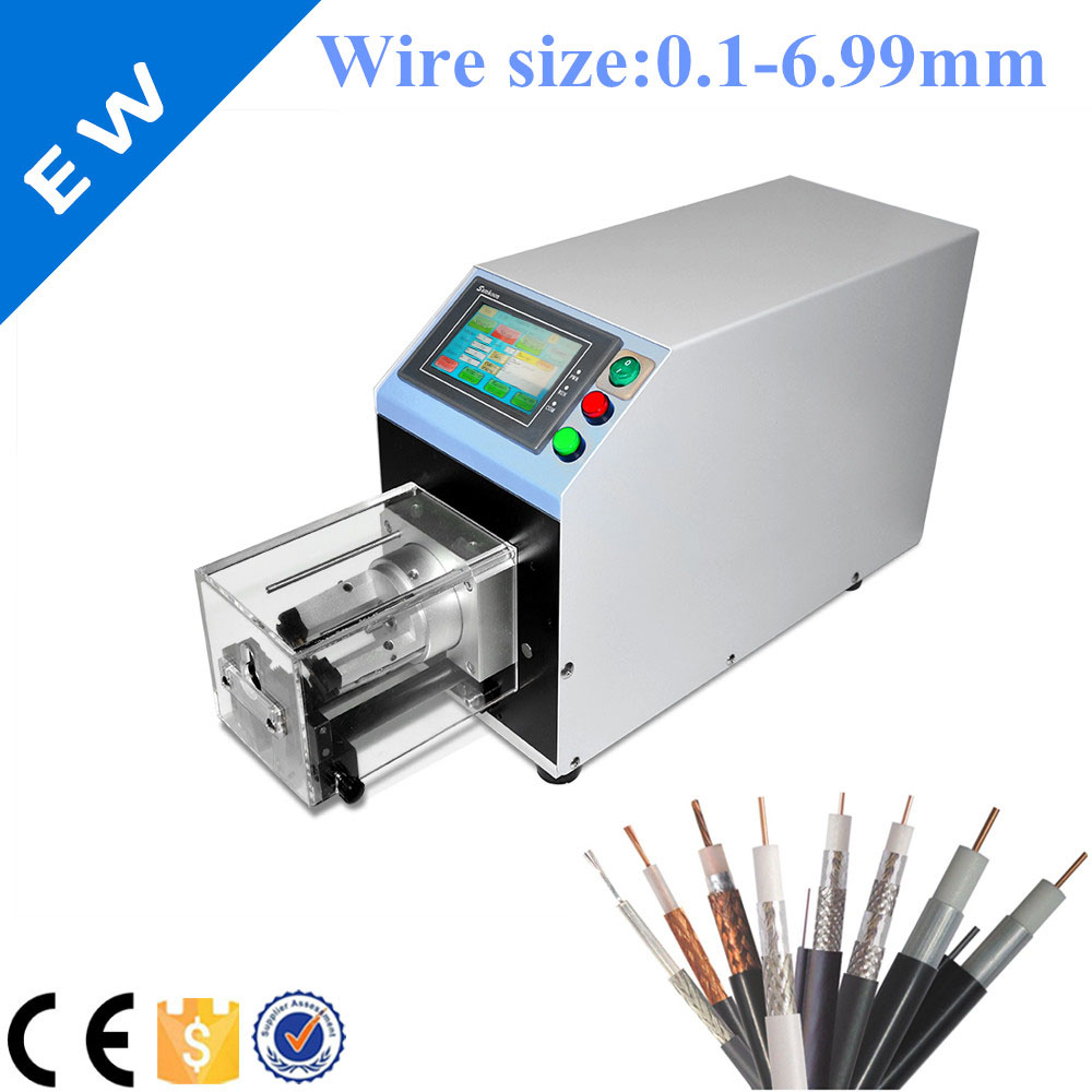 Used Schleuniger EW 06G Coaxial Cable Stripping Machine-in Wiring ...
