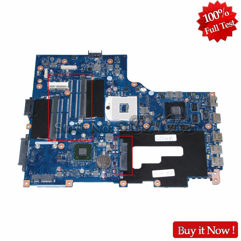 NOKOTION Laptop Motherboard for Acer asipre V3-771 V3-771G NBRYN11001 VA70 VG70 Mainboard rev 2.1 HM77 DDR3 laptop motherboard for acer asipre m3 581t nbry811004 jm50 i3 2367m hm77 gma hd 3000 ddr3