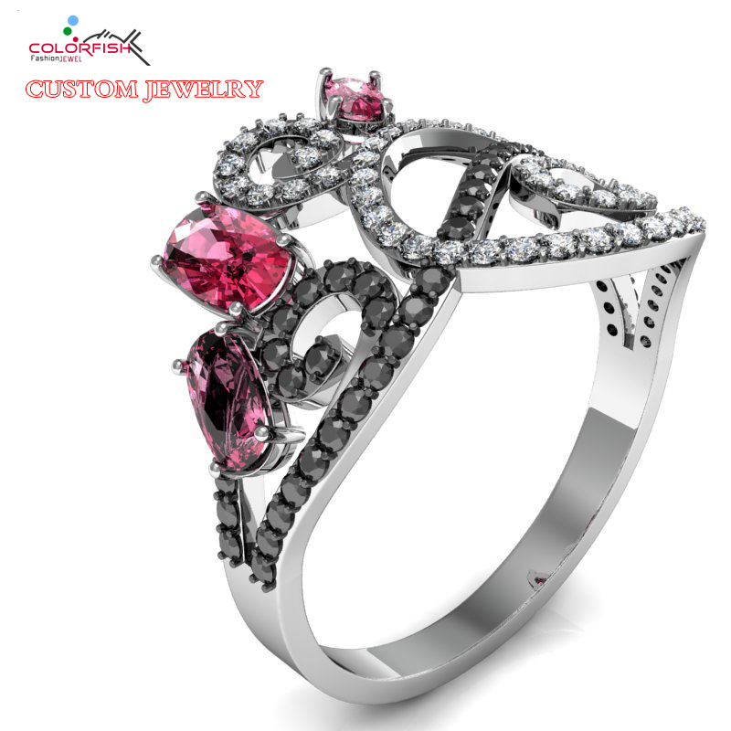 Design Your Own Ring: Aliexpress.com : Buy COLORFISH Design Your Own Jewelry