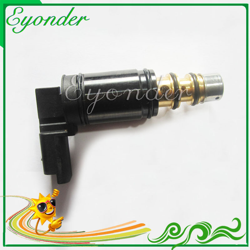 A/C AC Air Conditioning Compressor Electronic Refrigerant Solenoid Control Valve for Peugeot 3008 308CC 308SW 408 508 2008A/C AC Air Conditioning Compressor Electronic Refrigerant Solenoid Control Valve for Peugeot 3008 308CC 308SW 408 508 2008
